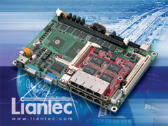 Liantec EMB-5740 EmBoard with TBM-1240 Tiny-Bus Module