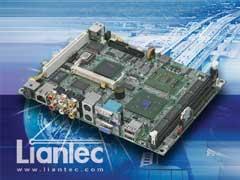 "Liantec EMB-5830 : 5.25"" Intel Pentium M Multimedia EmBoard"