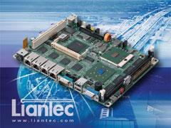 "Liantec EMB-5842 : 5.25"" Intel Pentium M Multiple Gbit Ethernet EmBoard"