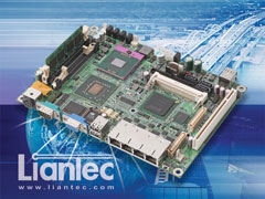 "Liantec EMB-5940 : 5.25"" Intel Core 2 Duo Mobile Express Networking EmBoard with Tiny-Bus Modular Extension Solution"