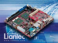 Liantec ITX-6810 Mini-ITX Intel Pentium M EmBoard with Tiny-Bus Modular Extension Solution