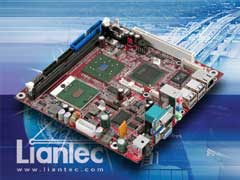 Liantec ITX-6815 Mini-ITX Intel Pentium M / Celeron M EmBoard with Tiny-Bus Extension Solution
