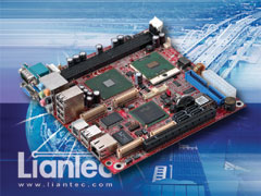 Liantec ITX-6910 Mini-ITX Intel 915GME Core 2 Duo Mobile EmBoard with Tiny-Bus Modular Extension Solution