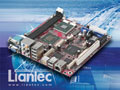 Liantec ITX-6965 Mini-ITX Intel GME965 Core 2 Duo Mobile Express EmBoard with Tiny-Bus Modular Extension Solution