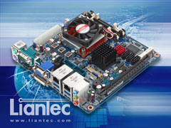 Liantec ITX-QM77 Indsutrial Mini-ITX Intel QM77 Ivy Bridge 3rd Generation Core i3 / i5 / i7 / Celeron Mobile Motherboard