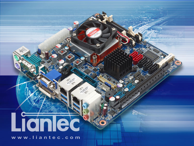 Liantec ITX-QM77 Industrial Mini-ITX Intel QM77 Ivy Bridge Core i3 / i5 / i7 Mobile Motherboard