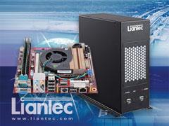 Liantec LPC-M2B series Industrial Wallmount Mini-ITX Barebone Solution with Tiny-Bus x16 PCIe Graphics Extension Solution