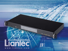 Liantec LPC-R1A series Industrial 1U Mini-ITX Barebone Solution with Tiny-Bus Modular Extension Solution