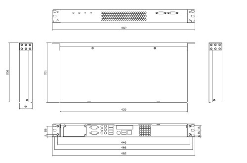 Liantec LPC-R1A Mechanical Drawing