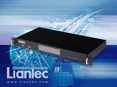 Liantec LPC-R1C Industrial 1U Mini-ITX Barebone Solution Supports Ultra Low Profile 1U Slim Card and Tiny-Bus Modular Extension Solution