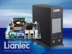 Liantec M2B-QM67 Industrial Wallmount / Standalone Mini-ITX Intel Sandy Bridge Mobile Barebone Solution