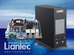 Liantec M2B-QM77 Industrial Wallmount / Standalone Mini-ITX Intel QM77 Ivy Bridge Mobile Barebone Solution