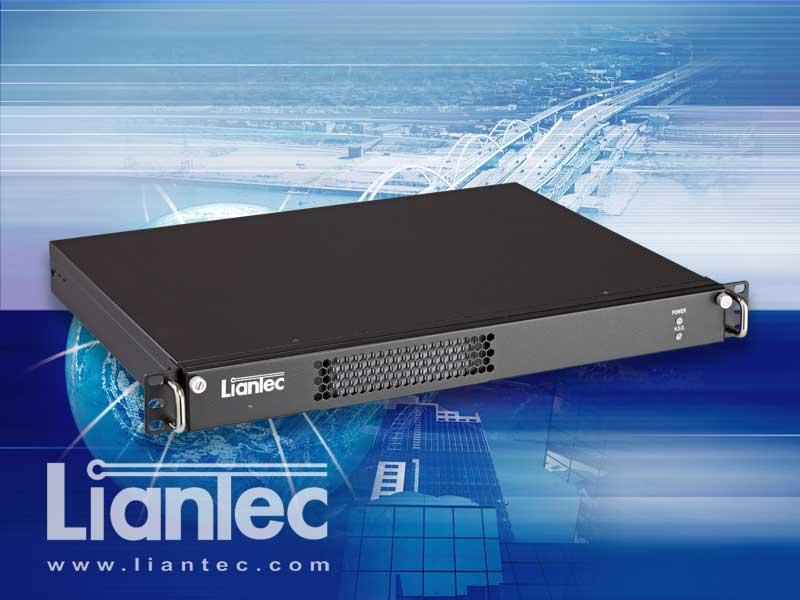 Liantec R1X Industrial 1U 19-inch Rackmount Mini-ITX Barebone Solution Supports Tiny-Bus 1U / 2-Slot PCIe / PCI Expansion Solution