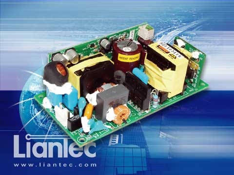 Liantec SNP-G12 Industrial Open Frame Fanless AC/DC Power Supply