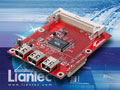 Liantec TBM-1260 Tiny-Bus PCI IEEE1394a Firewire Extension Module
