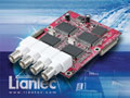 Liantec TBM-1420 Tiny-Bus PCIe 4-Channel Video Capture Module