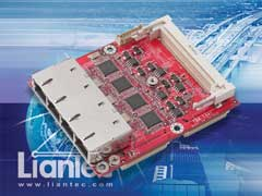 Liantec TBM-1441 Tiny-Bus PCIe Quad Gbit Ethernet and Mini-PCI Module
