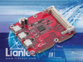 Liantec TBM-1450 Tiny-Bus PCIe IEEE1394b FireWire800 Host Extension Module