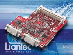 Liantec TBM-16SDVOD : Tiny-Bus Dual SDVO/DVI Extension Module