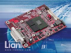 Liantec TBM-16AM72 : Tiny-Bus x16 PCIe AMD-ATi M72 Radeon E2400 Grapgics Module