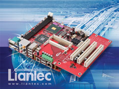 Liantec TBM-HDK-PCI Tiny-Bus PCI Hardware Development Module on Mini-ITX EmBoard